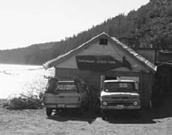 Canterbury Oyster Farm on Quilcene bay was a major producer of Quilcene Oysters until it ceased operation in 1991